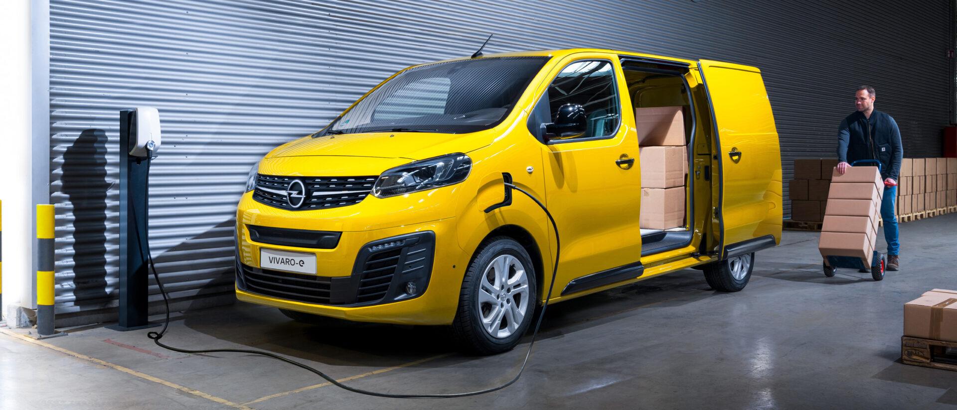 Opel Vivaro-e: Payload capacity.