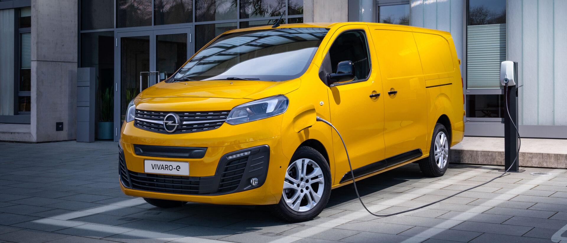 Opel Vivaro-e: Fully Electric.