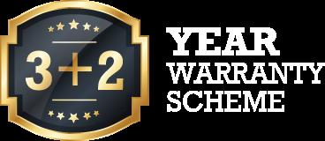 3 + 2 Year Warranty Scheme