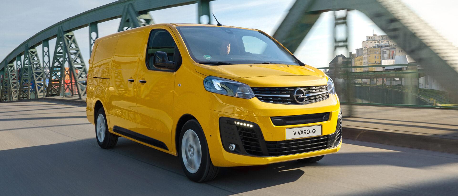 MY 2021 Vivaro-e Panel Van.